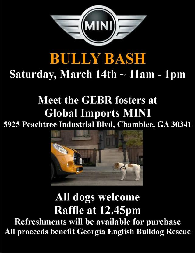 ~ You Are Invited To The Bully Bash ~
