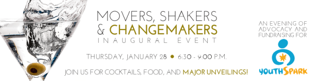 YouthSpark Movers, Shakers & Changemakers Event 2016
