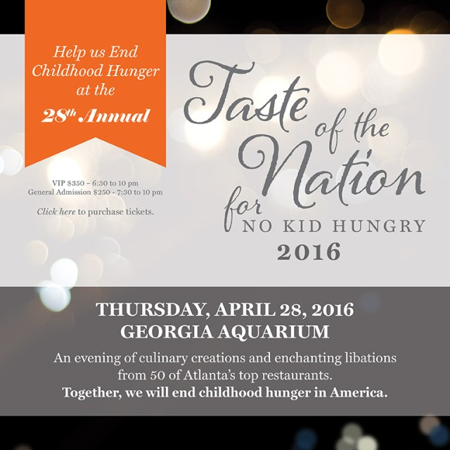 Presenting The Atlanta Taste Of The Nation