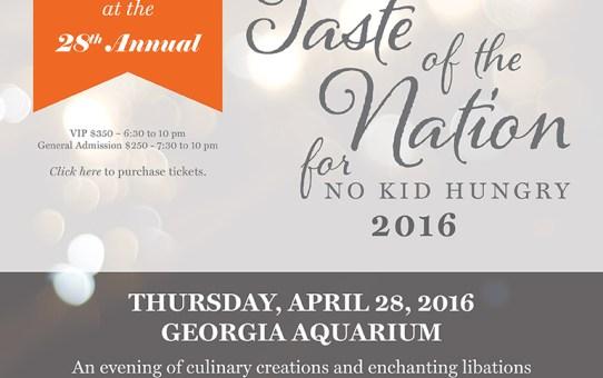 Presenting The Atlanta Taste Of The Nation