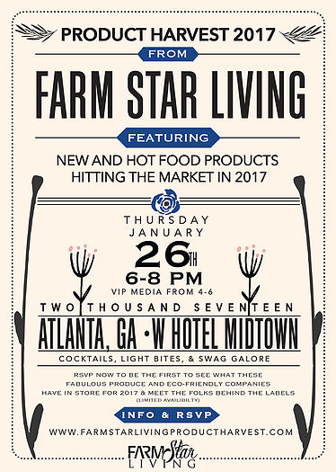 Farm Star Living Presents Product Harvest 2017