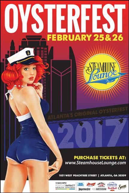 The Original Atlanta Oysterfest Is February 25th & 26th!