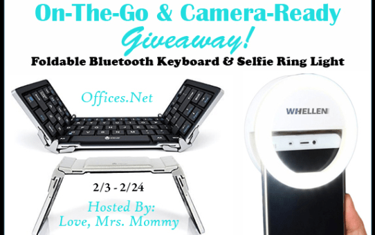 Let's Go With The On-The-Go & Camera-Ready Tech Giveaway!