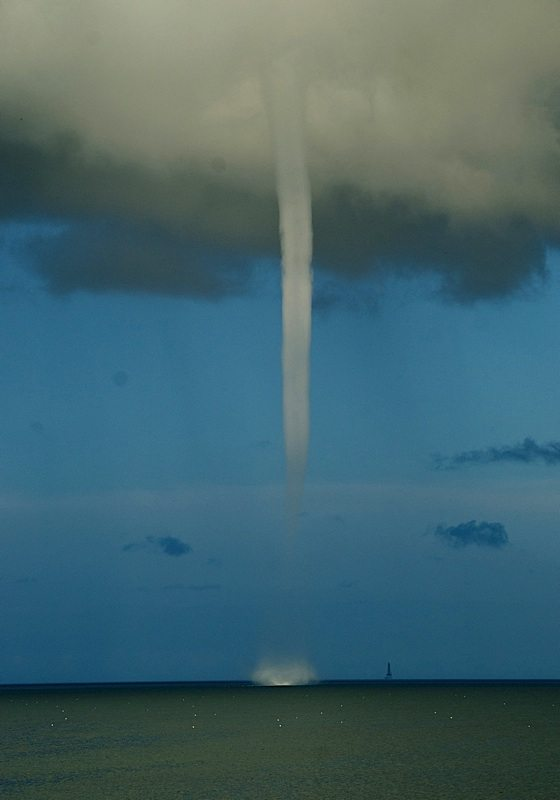 See a waterspout? Flats boat captains best run for home.