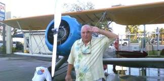 #RIP: Peter Anderson - A man standing in front of a plane - Aviation