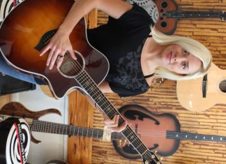 #Music: Karri Daley sings with soul - A close up of a guitar - Bass guitar