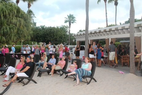 A crowd of more than 50 came to support Zonta Club and breast cancer awareness.