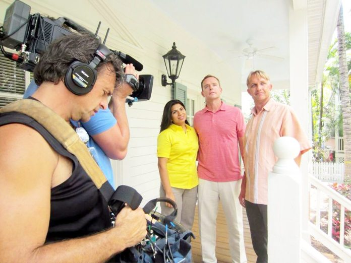 #News: Local agent and family featured on HGTV - Semir Osmanagić et al. standing in a room -