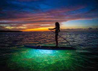 #Arts: Nick Doll translates Key West with photography style - A sunset over a body of water - Water