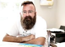 Sean Callahan's new gallery — Dog Tired Studio — is now open on Whitehead Street in Key West.