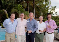 Scott Boykin, Stratton Pollitzer, Fred Livingston, Rodney White and Trey Kieckhefer make a dashing picture.