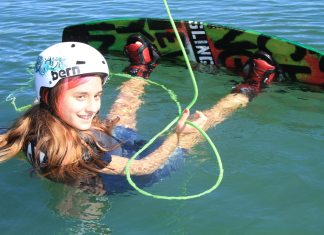 Keys Cable and oTHErside host Family Fun Day - A dog swimming in a body of water - Vertebrate