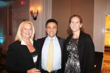 Key West Chamber board president and Lower Keys Medical CEO, Nicki Will, alongside Dr. Aydin Atilla and his lovely wife Tracy.