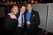 Broadwave president Jordan Smith, Marriott Beachside's Justin Harris and Ocean Key's Ryan Gernaat attend the event.