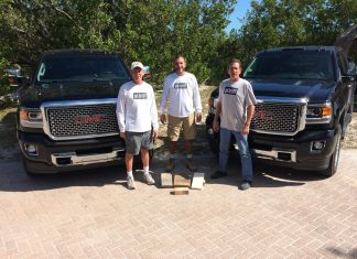 Ten years for Paver Dave - A group of people standing in front of a truck - Car