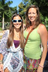 Yoga instructors Jolie Wilson and Sara Snitkoff learn about the chocolate process. Chocolate shops are popping up across the county like microbreweries. Right now, all the beans are imported into the United States.