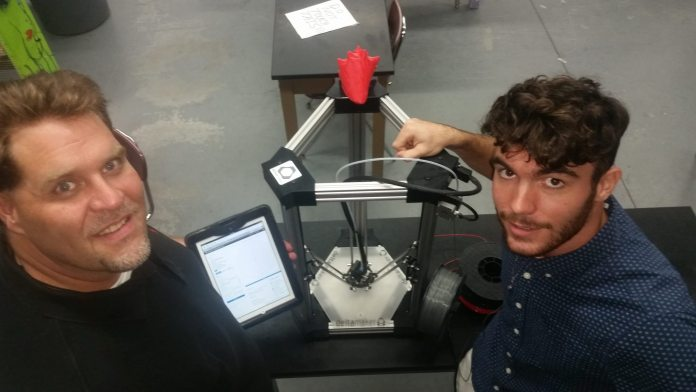 3D printing comes to the Keys - A man standing in front of a computer - Profession