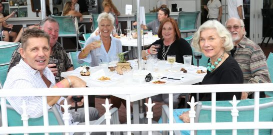 MARC mega-supporter Rosi Ware and her clan taste all of the concoctions. Local restaurants donated their time and efforts for the fundraiser.