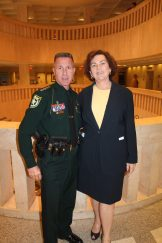 Monroe County Sheriff Rick Ramsay and State Attorney Catherine Vogel played a huge role in reducing Monroe County's crime in 2015 and plenty of legislatures in Tallahassee took a thankful notice.