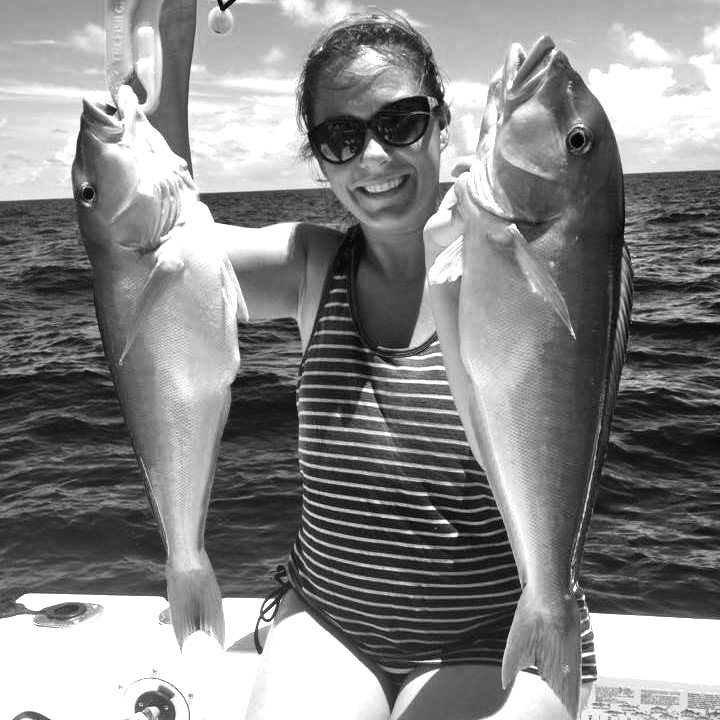 The Catch of a Lifetime – lunch and fishing or spearfishing with Jeanine Christiansen on SpearCrazy Charters.