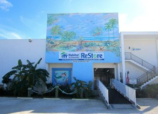 The ReStore needs a new home - A sign on the side of a building - Condominium