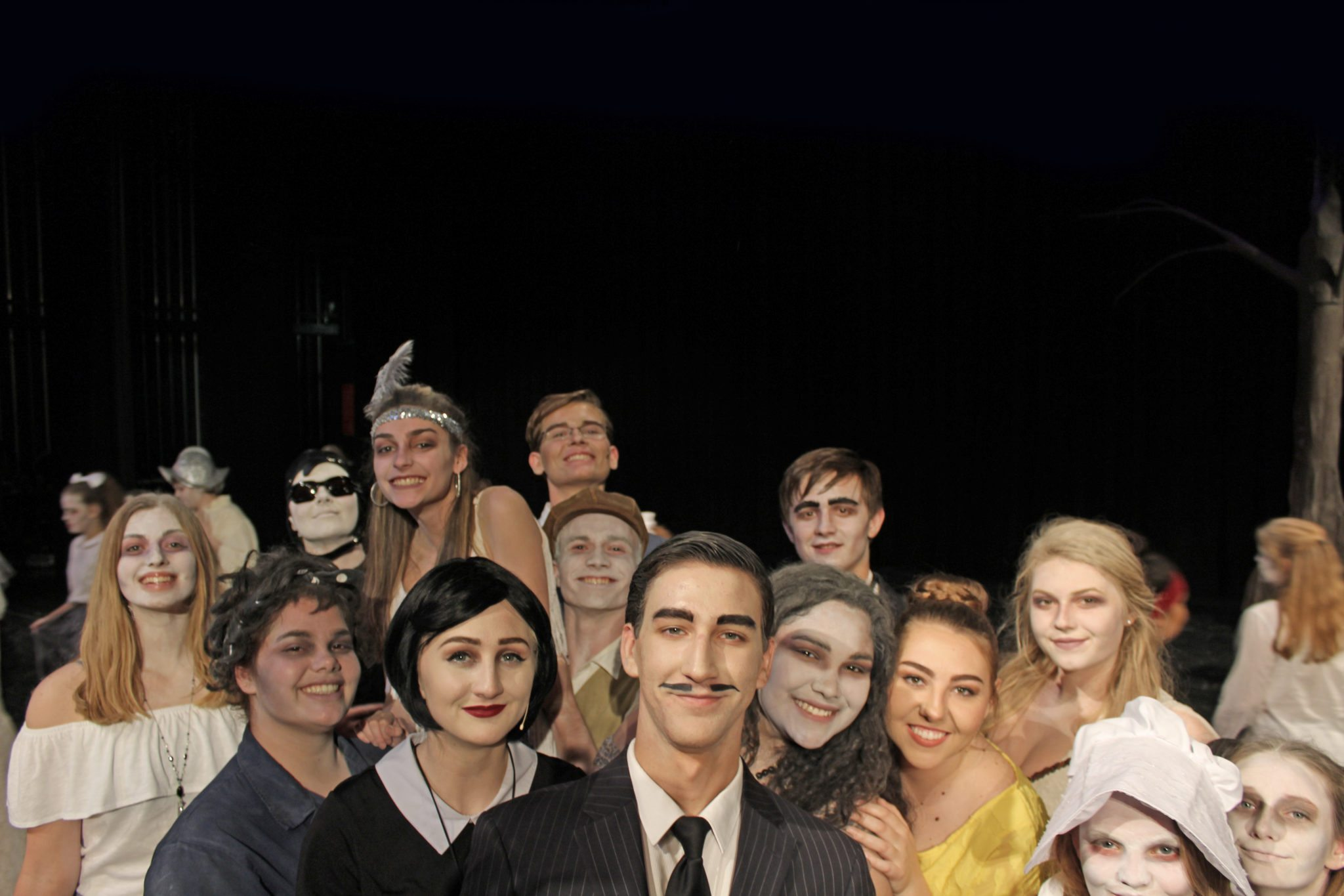 The cast and crew of 'The Addams Family' take the stage this weekend.