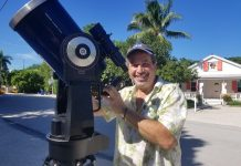 Astronomer Charles Fulko urges kids to get outside for solar eclipse.
