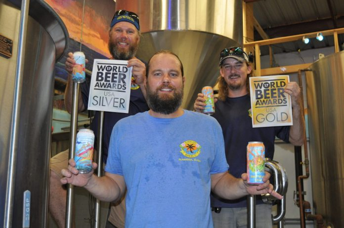 The brewery's Iguana Bait Honey Hibiscus Kolsch recently received the gold medal in the World Beer Awards, while the Spearfish Amber Ale took the silver medal for American amber ales.