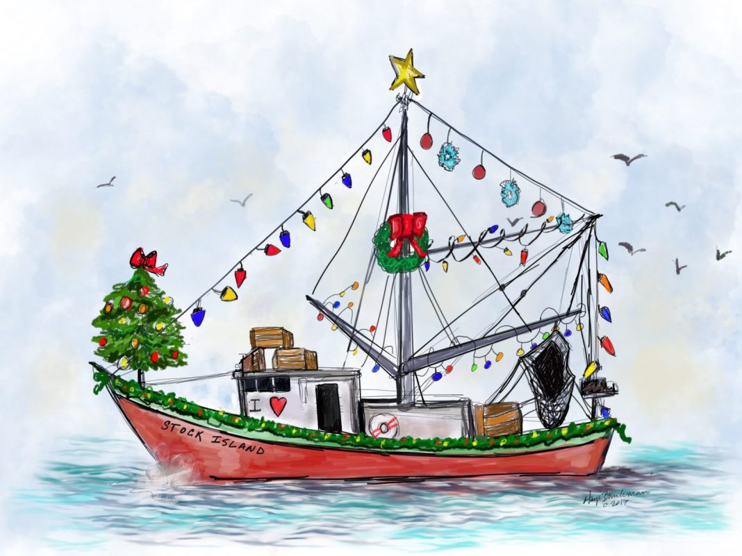 Boat parades in the Keys