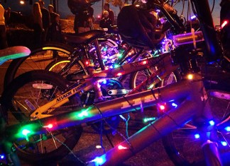 Lighted Bike Rides