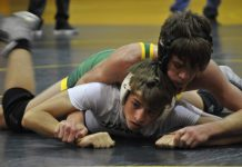 Wrestling team at Coral Shores