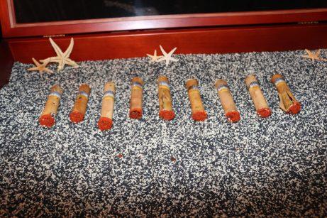 Key West Yacht Club's tuna cigars were a huge hit.