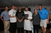 Spencer's at The Reach won first place in the appetizer and entree division.