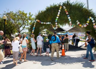 The Seafood Festival Arch
