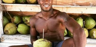 30 minutes to a better you – Dante Harper opens Flex Key West - A man sitting at a fruit stand - D.W. Harper