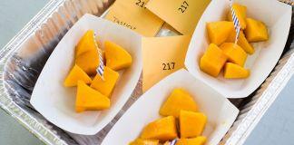Praise the Mango - A plastic container of food - Mango