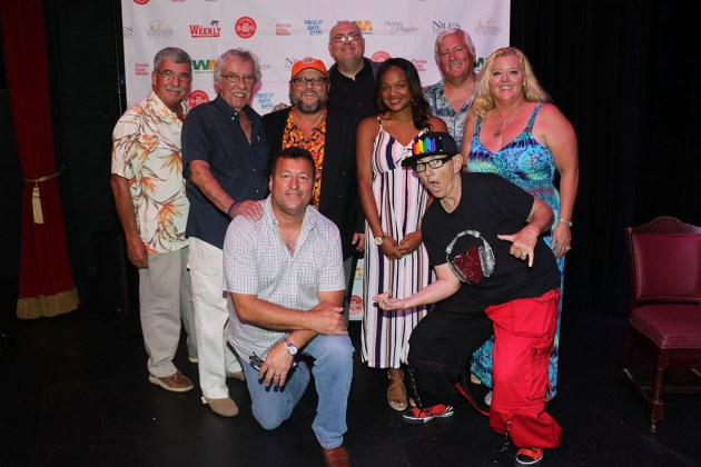 And the Winners Are! - Kyla Pratt et al. posing for a photo - Key West Theater