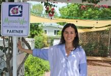 MORADA WAY INTERIM DIRECTOR TALKS ISLAMORADA ART - A person standing in front of a sign - Florida Keys
