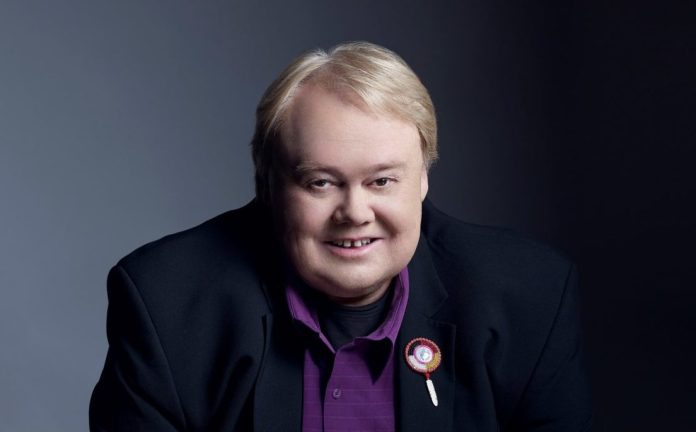 Louie Anderson Brings the Laughs: Famed Funny Man Comes to Key West - Louie Anderson wearing a purple shirt - Louie Anderson