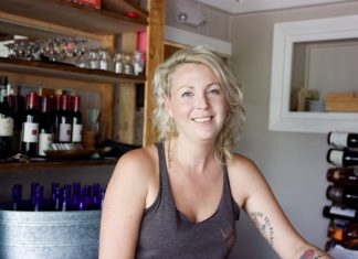 The cost of service with a smile – Study highlights depression in the service industry - A woman holding a bottle - Room