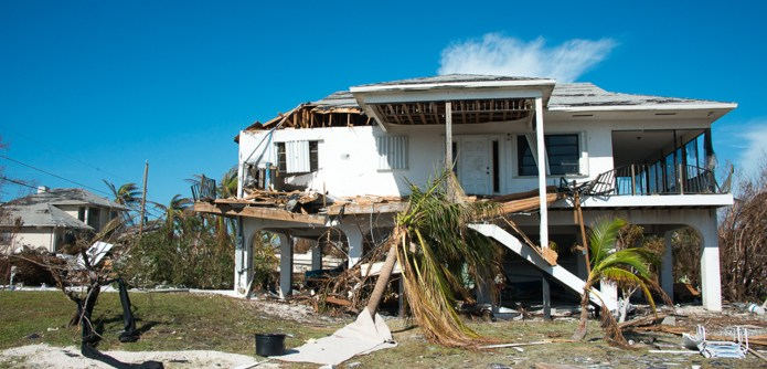AN AMAZING 'SLIDE SHOW' - A group of lawn chairs sitting on top of a wooden house - Florida Keys