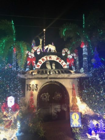 503 Washington Street reigns as champion … and Southernmost North Pole. Teri Johnston is indeed #winning this year.