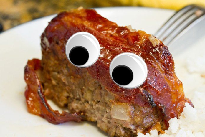 Top 10 Things Meat Loaf Would NOT Do For Love - A piece of cake on a plate - Meatloaf
