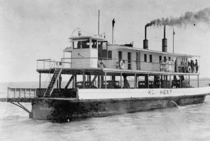 POST OFFICES AND TRAGEDY - A large ship in a body of water - Ferry