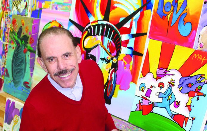 Key West Gallery Hosts Peter Max to Kickoff Art Show - A person posing for the camera - Peter Max