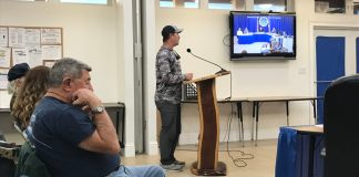 Capt. Steve Friedman seeks water district seat - A man playing a video game - Public Relations