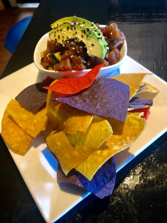 Fresh Tuna Poke with avocado and sesame seeds. Simple and tasty. SARAH THOMAS/Keys Weekly