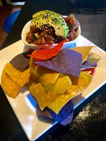 Fresh Tuna Poke with avocado and sesame seeds. Simple and tasty. SARAH THOMAS/Keys Weekly