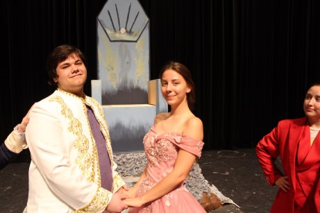 Lead actors for 'The Little Mermaid' are Chris Hernandez as Eric and Lina Coole as Ariel.