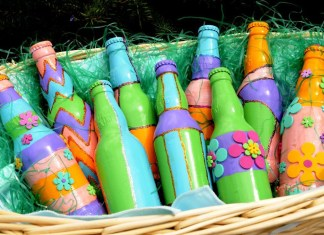 Easter's on its way - A group of colorful flowers - Brewery